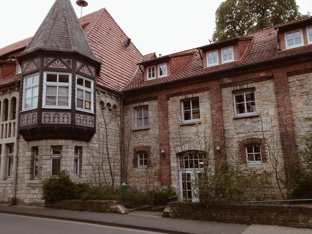 Unsere Location für das Wochenende - die alte Brauerei in Northeim