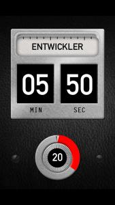 Develop! iOS App Multitimer für Filmentwicklung
