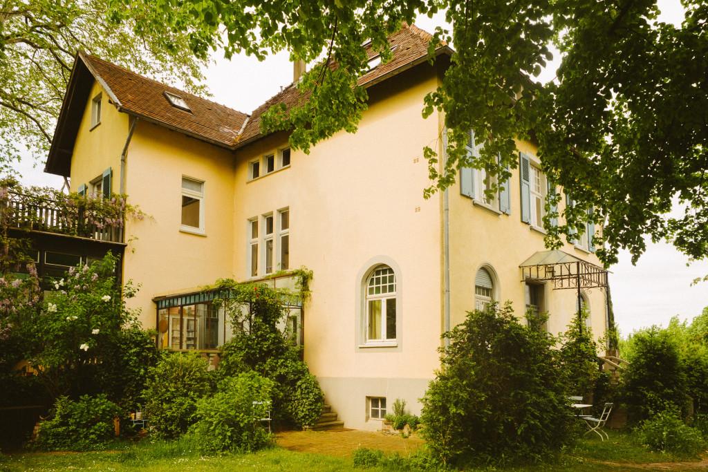 Gelbe Villa in Köln