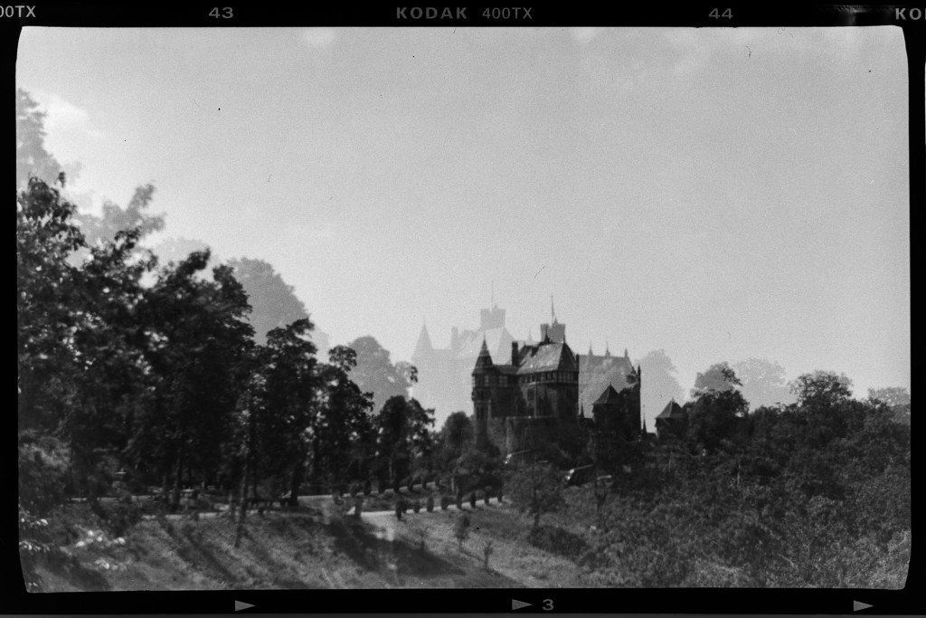 Schloss Berlepsch in unbeabsichtigter Doppelbelichtung