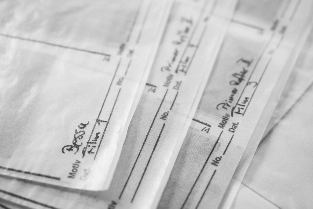 Negative wollen archiviert werden – Ich nutze Pergamin-Hüllen