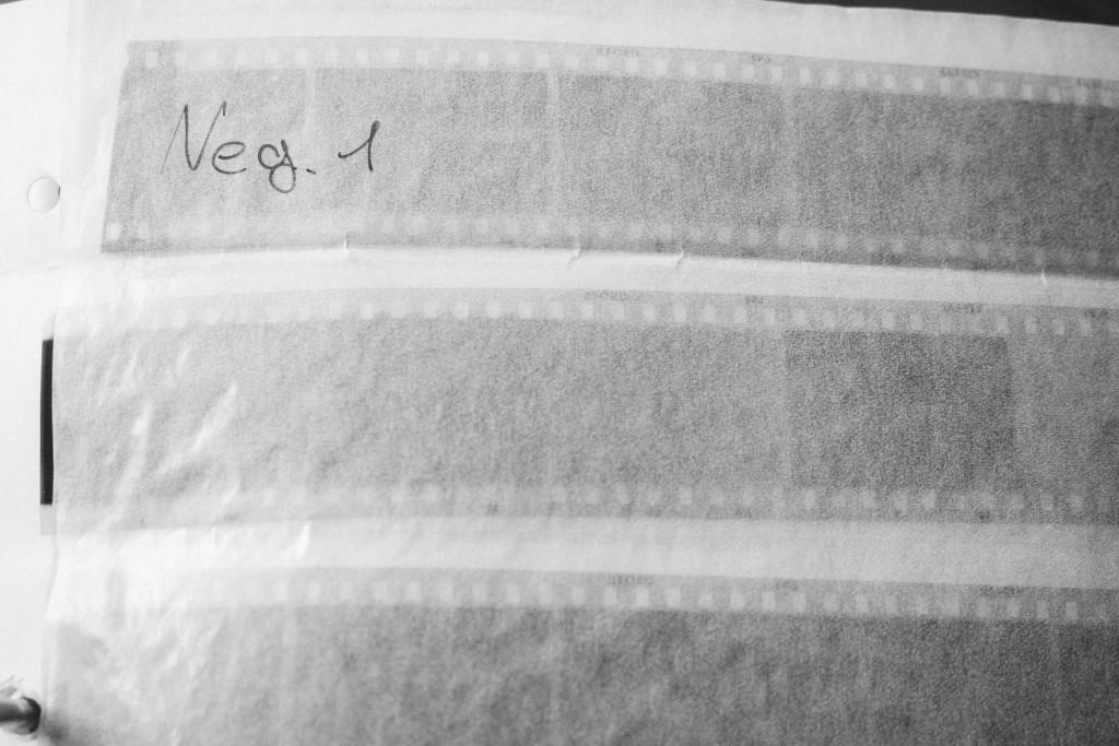 Meine ersten S/W-Nagative hatte ich bereits in Pergamin-Hüllen archiviert – Und ich habe sie noch