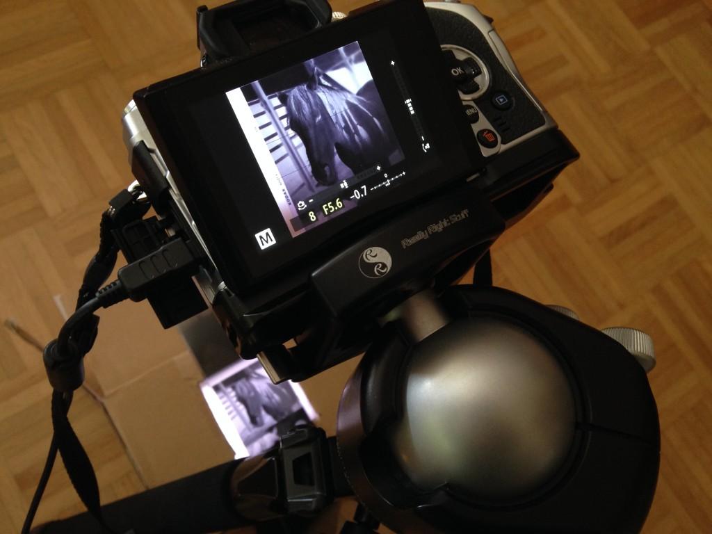 Mittelformat mit Bastellösung abfotografieren