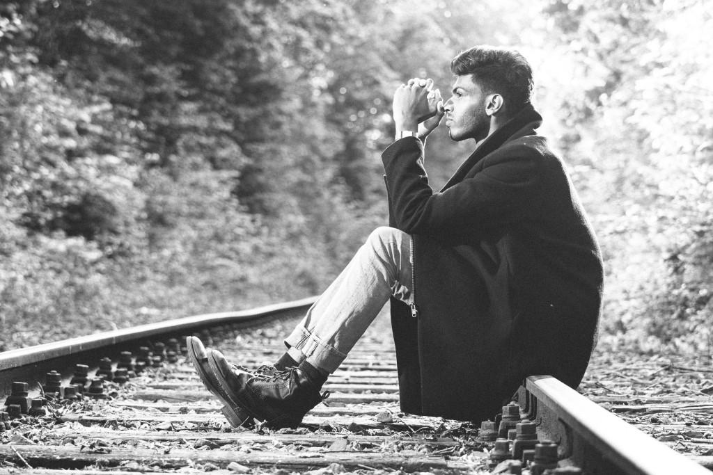 Warten und über das Leben nachdenken