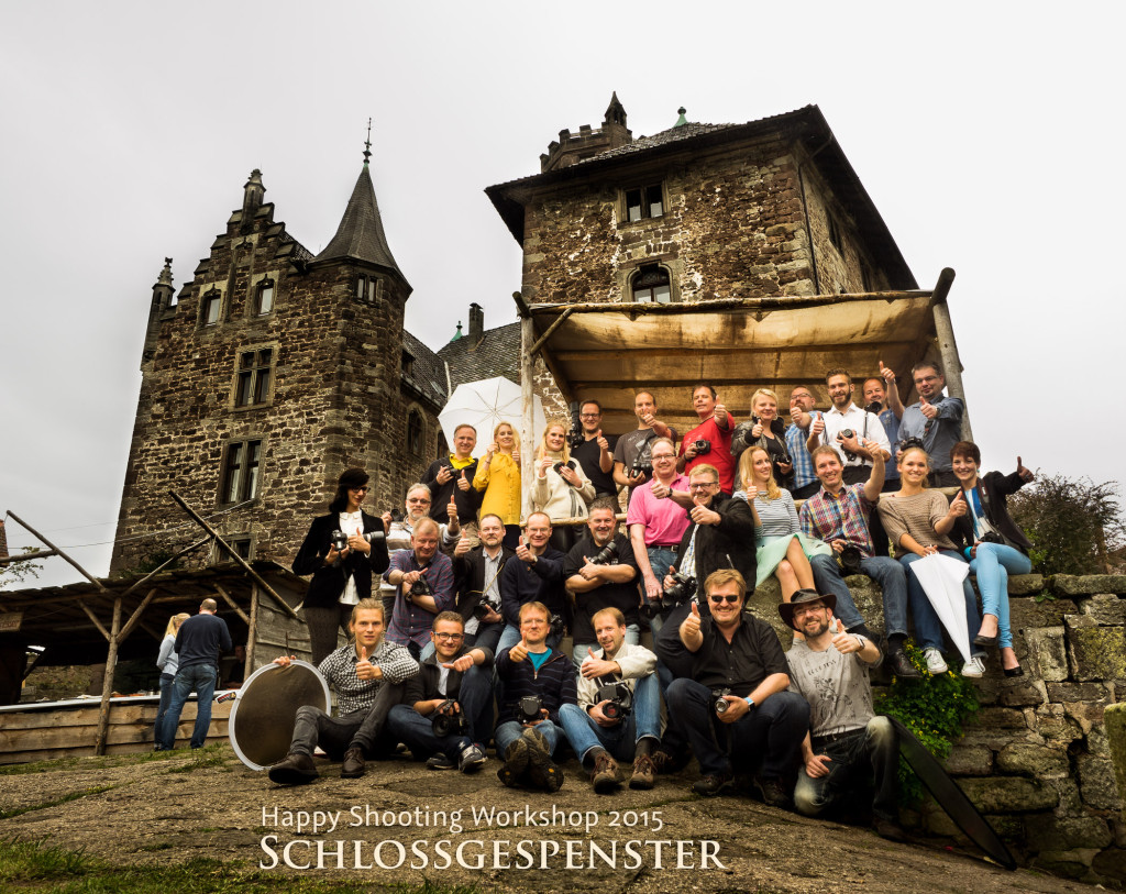 Posing & Licht Workshop im Schloss Berlepsch - happyshooting.de