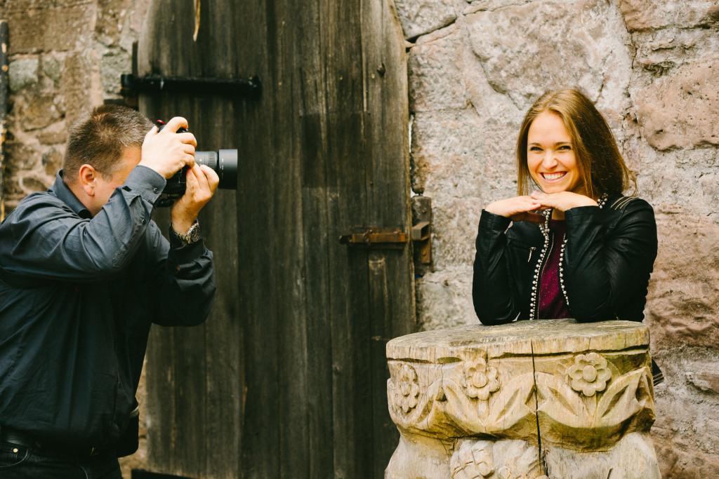 Rainer und Angelina bei den Schlossgespenstern