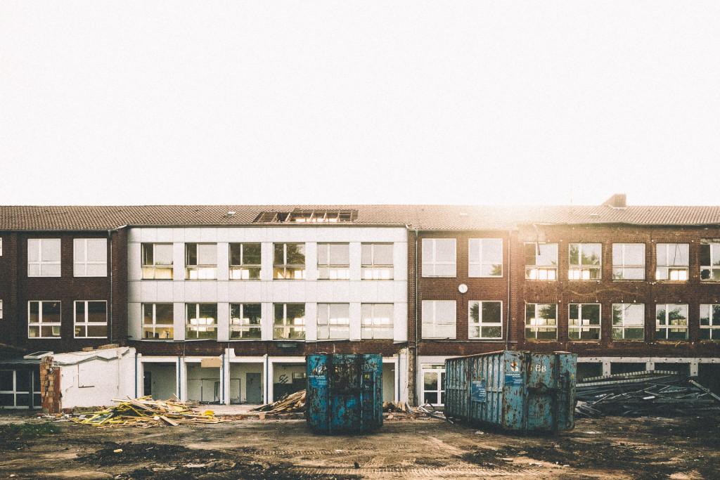 Lost Place - alte Schule