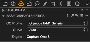 Capture One Pro 8 – Wendet automatisch ein Kamera-Profil an. Außerdem wird kräftig geschärft und Luminanz-Rauschen wird recht stark reduziert