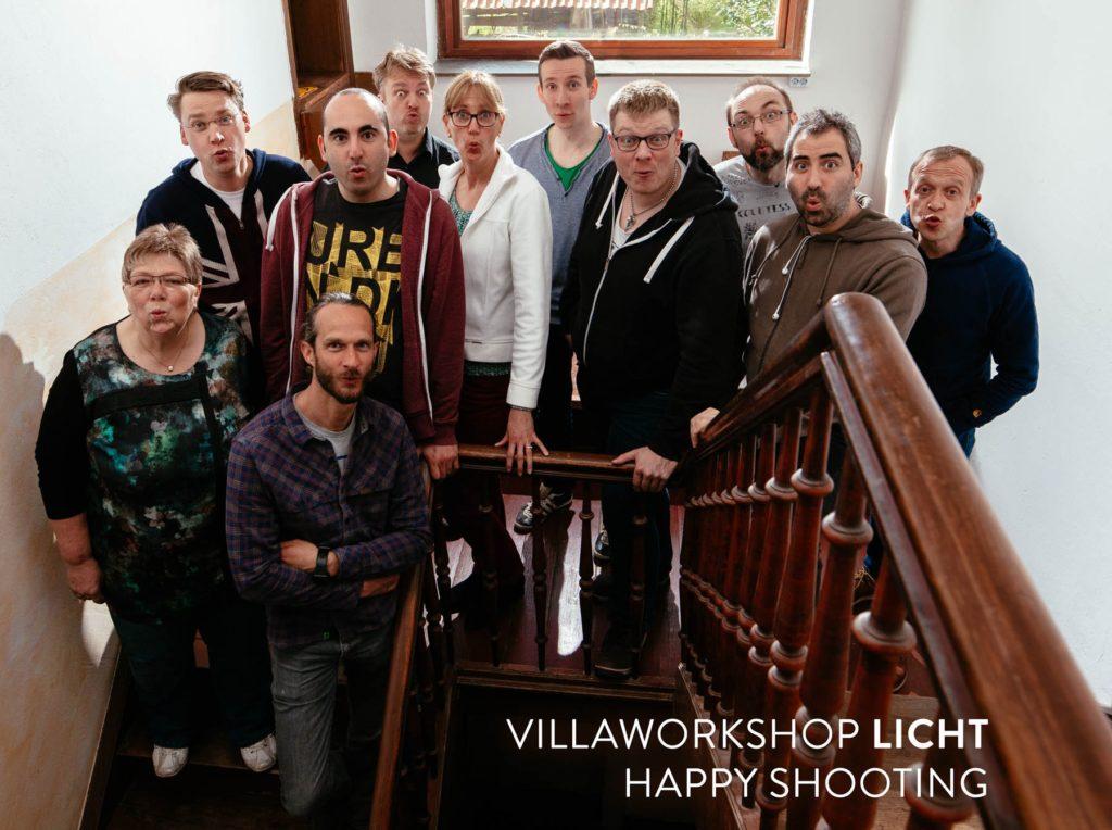 Villaworkshop LICHT - Gruppenbild