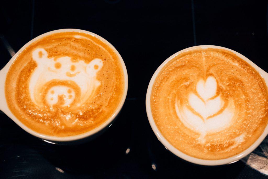 Mehr Latte Art von Michael