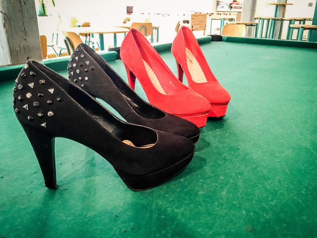 Ein paar Schuhe für Fortgeschrittene :)