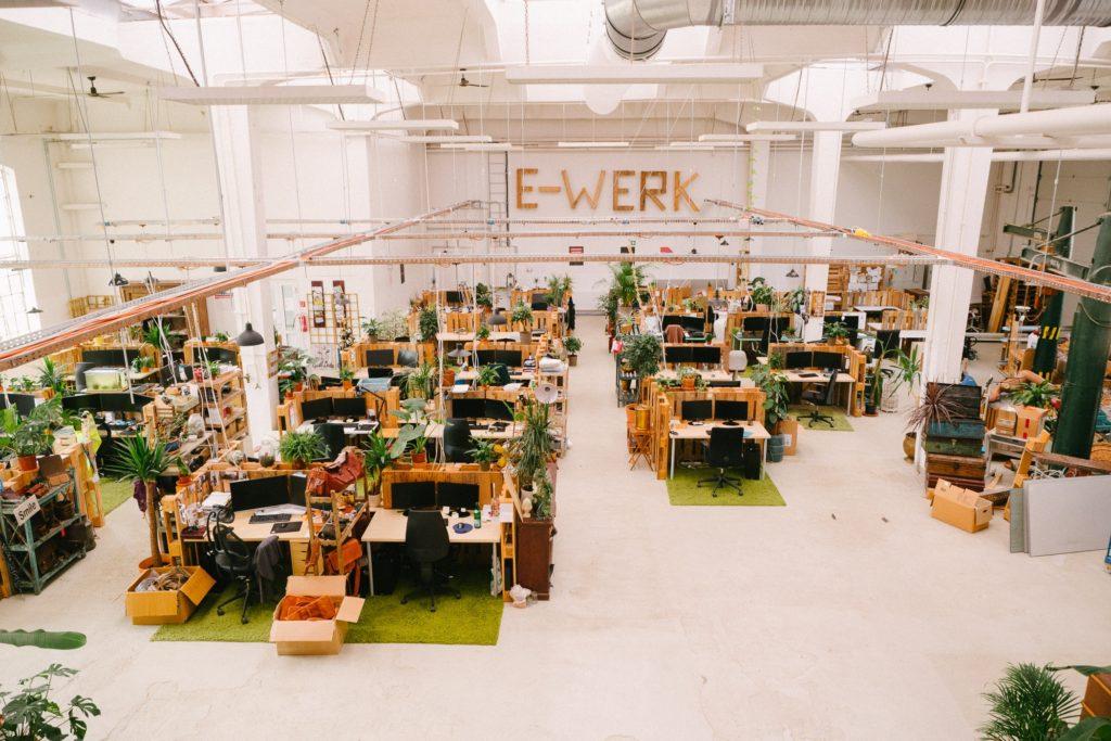 Große Bürofläche bei Gusti